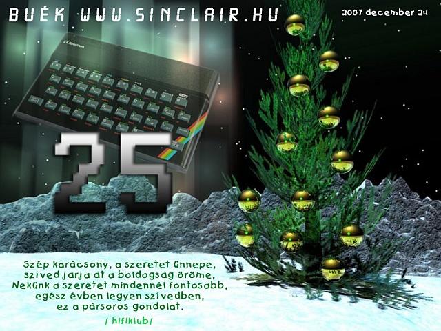 Boldog Karácsonyt és Új Évet kívánunk!