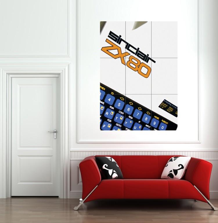 ZX80 óriás poszter