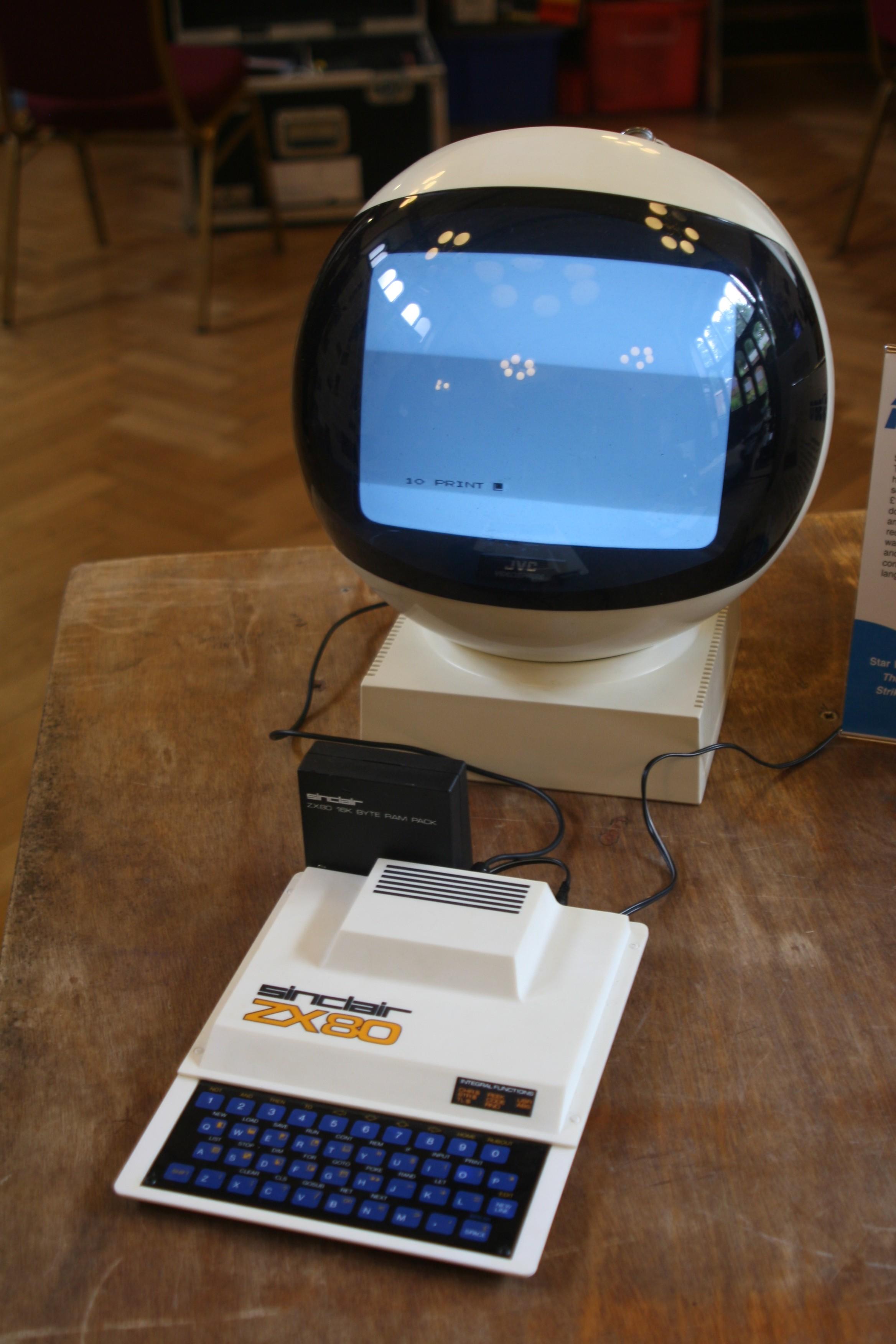 Retró ZX80 konfig